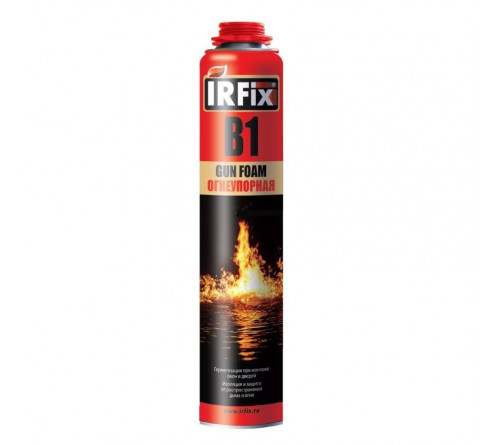 Пена монтажная ИрФикс/JetFix B1 Проф огнеупорная 750мл 10037