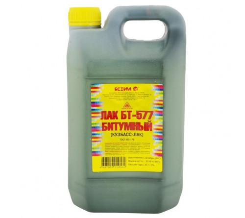 Лак битумный БТ-577 3л; 32198