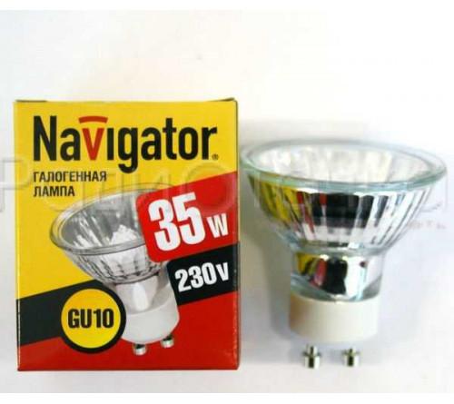 Лампа галоген. GU4 35Вт Навигатор