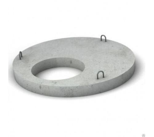 Крышка ЖБ 1,0м-переходная паз