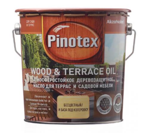 Масло PINOTEX WOOD & TERRACE OIL база п/колервку 2,7л
