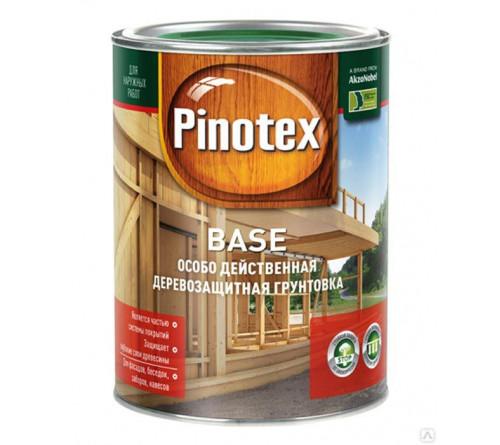 Грунтовка деревозащ. PINOTEX Base 1л