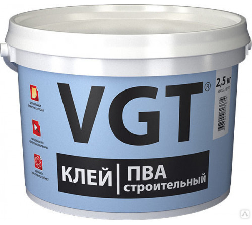 Клей ПВА ВГТ 2,5кг