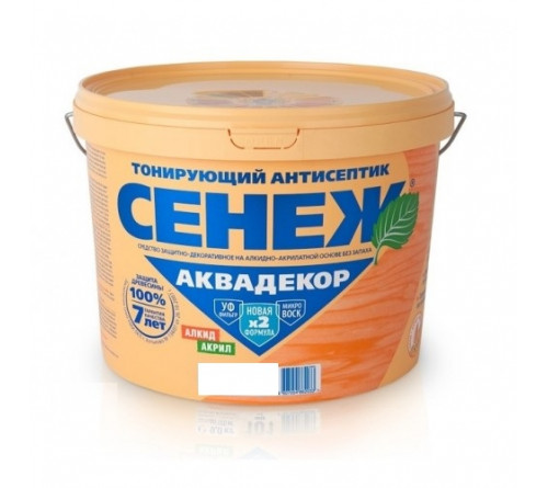 СЕНЕЖ АКВАДЕКОР - 110 (махаг) 0,9 кг