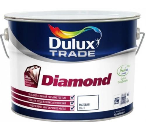 Краска DULUX Diamond мат. (ВW) 10л