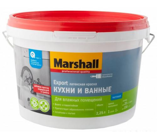Краска MARSHAL для кухни и ванной ВС 2,25л