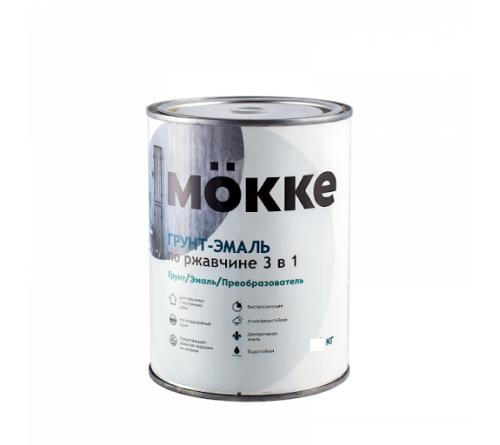 Грунт-эмаль 3 в 1 Мокке белый 2,7 кг