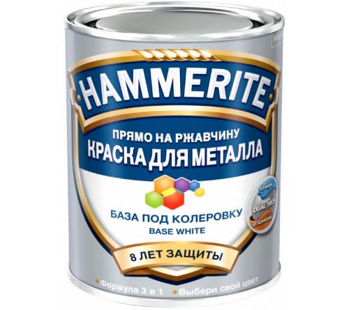 База HAMMERITE под колеровку белая 0,7л