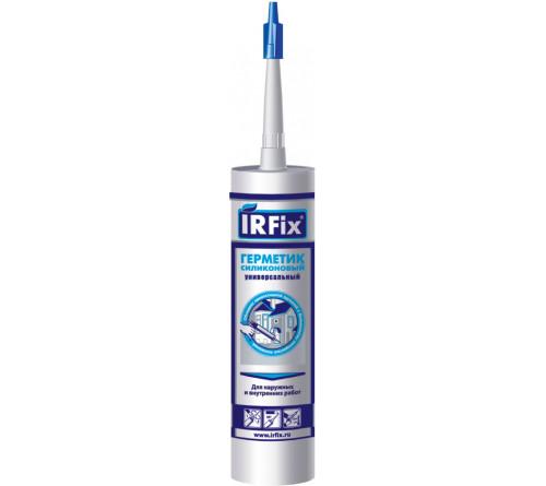 Герметик IRFIX силик. унив. коричн. 310мл 20033