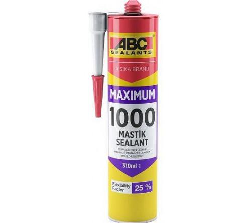 Герметик ABC силиконовый 1000 310ml