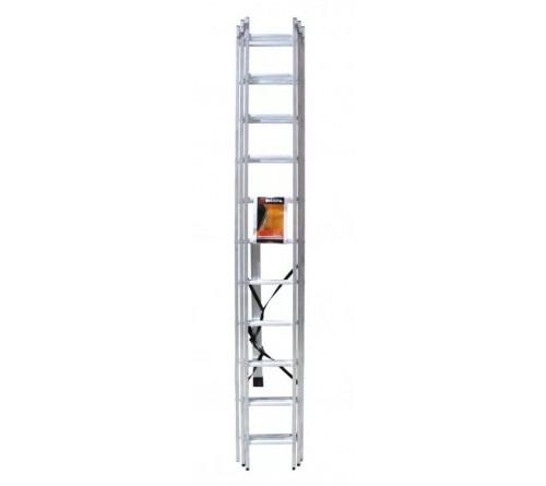 Лестница алюминевая ВИХРЬ ЛА 3 секц. по 11ст