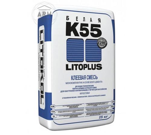 Клей для плитки Литокол К55 25кг