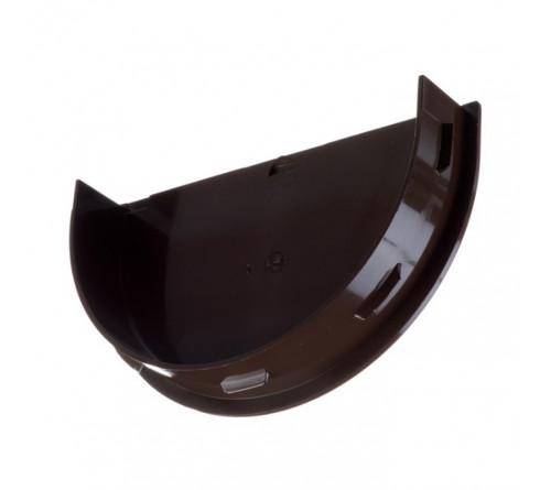 Заглушка желоба ДЕКЕ премиум Шоколад