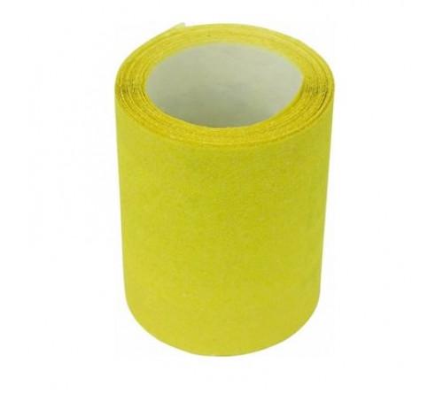 Бумага наждачная 115мм х 5м №100 (желтая)