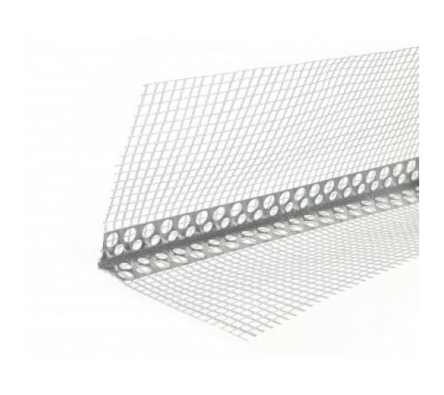 Уголок фасадный ВПХ с сеткой