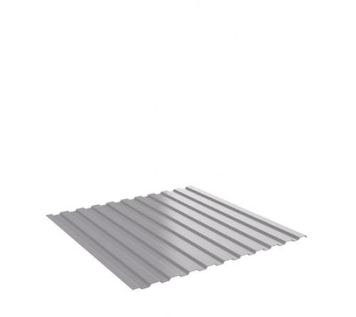 Профнастил С8 9003 1,18х0,04х2,0м (серый)