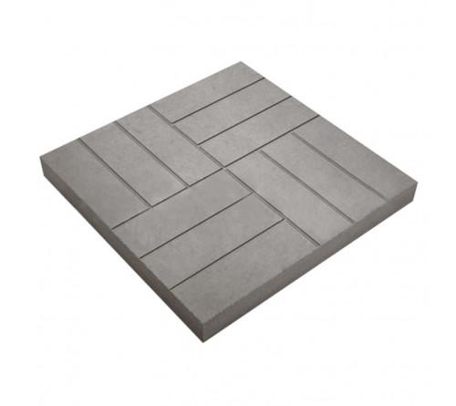 Тротуарная плитка 35х35х60 Серая