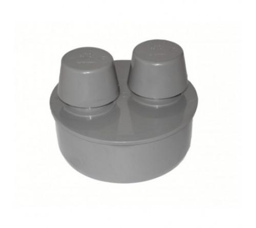 Аэратор ПВХ серый 110 2,2 мм