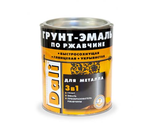 Грунт- эмаль по ржавчине DALI 3 в 1 бел. 9010 10л