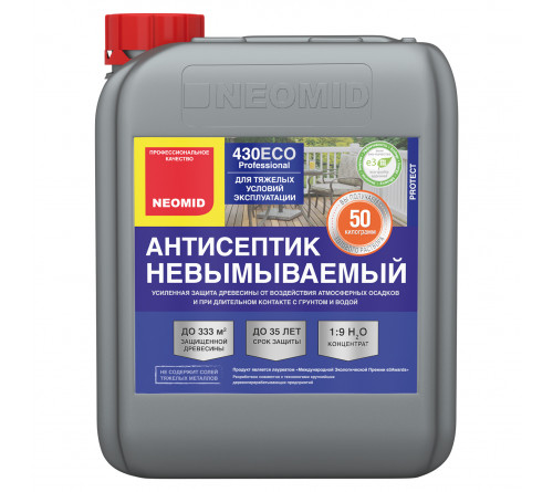Антисептик невымываемый  NEOMID 430 Eco 5л