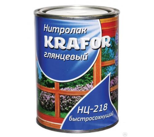 Лак НЦ-218 KRAFOR 0,7кг