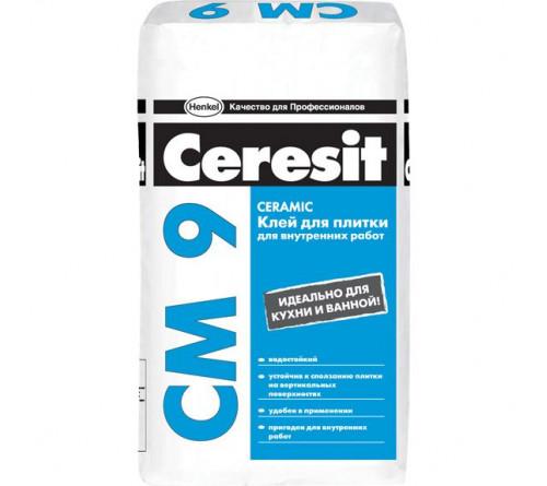 Клей для плитки Церезит СМ 9 25кг