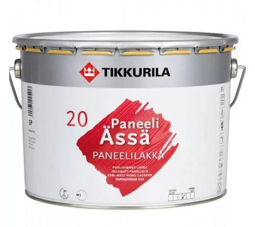 Лак интерькер. PANEELI - ASSA 20 Тиккурила 9л