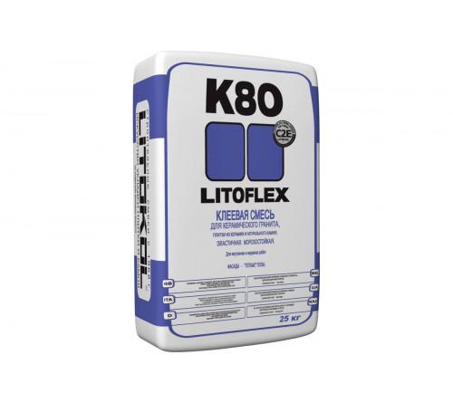Клей для плитки Литокол К80 25кг