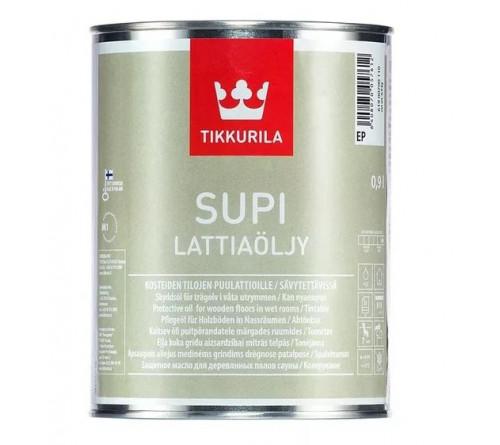 Защитное масло д/пола SUPI LATTIAOLJY Тиккурила 0,9л