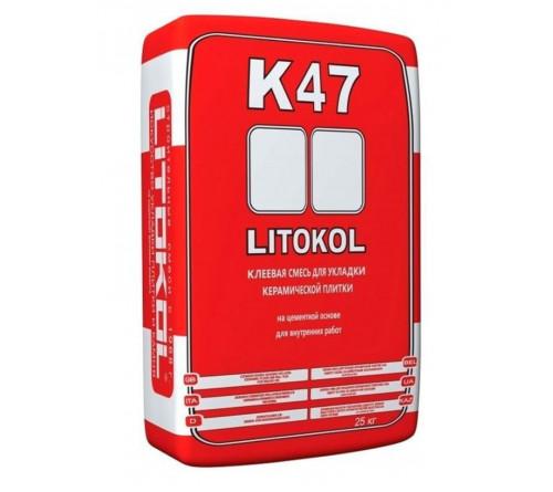 Клей для плитки Литокол К47 25кг