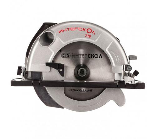 Пила дисковая Интерскол 210х30 1900Вт ДП-210/1900М гл.пуск