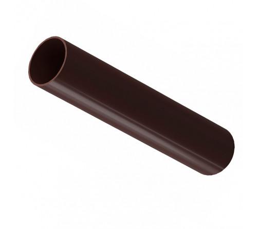 Труба водосточная 3м ДЕКЕ премиум Шоеолад