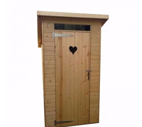 Туалет деревянный 1,2 х 1,2