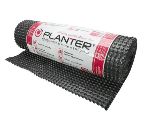 Профилированные мембраны Плантер standard 2х10 м