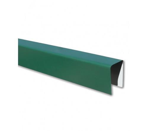 П-образная планка Зеленая (6005) 2,0м